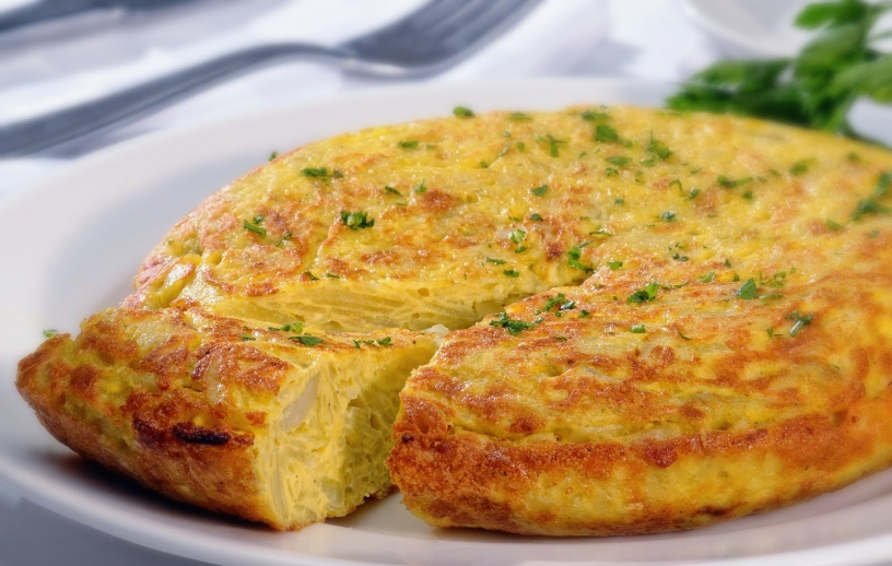 Tortilla zum Frühstück