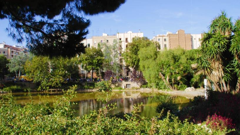 Park Gaudiego Barcelona