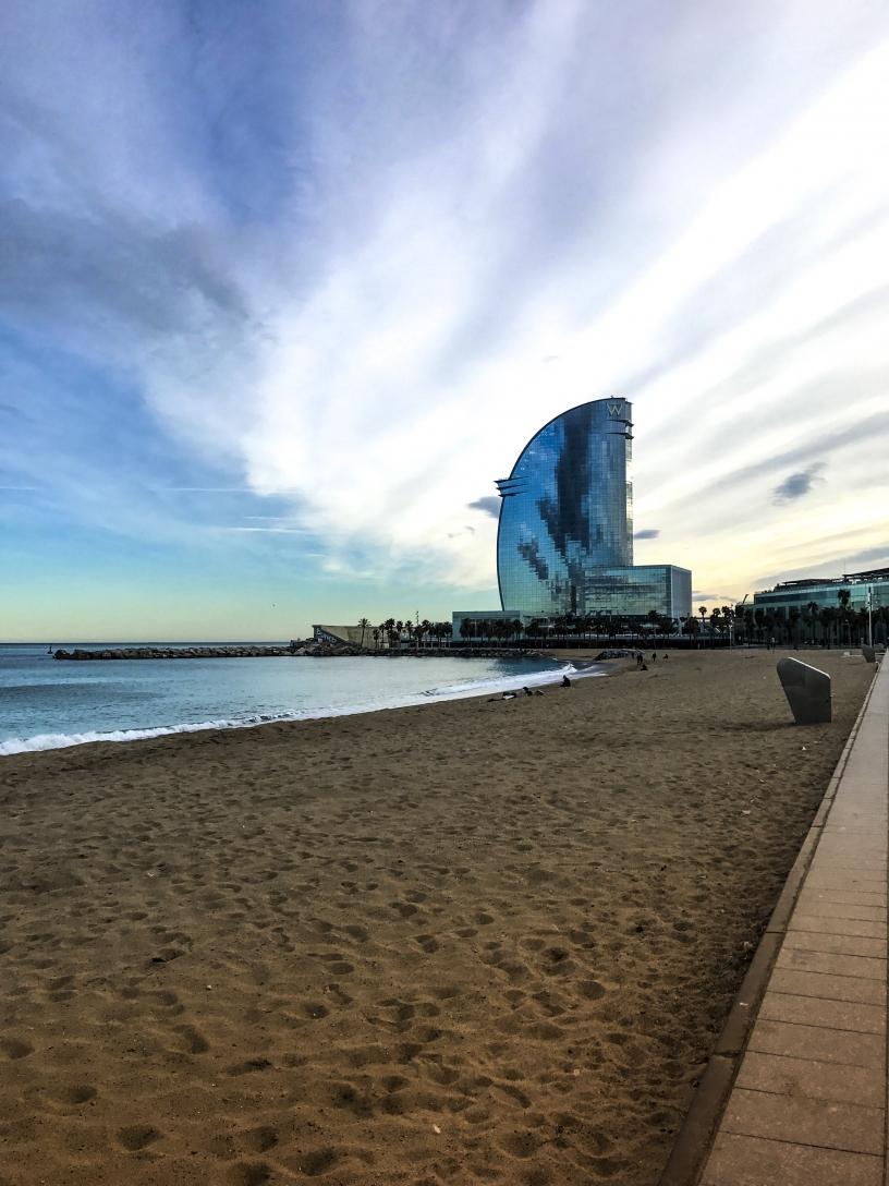W Hotel Barcelona Day