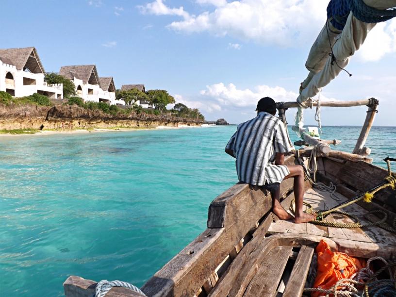 Alessandro a Zanzibar