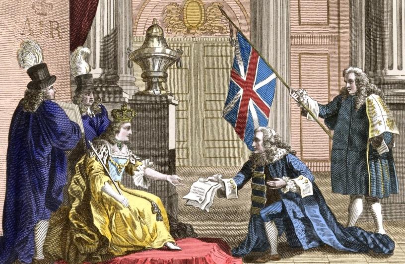 L'Atto di Unione del 1707