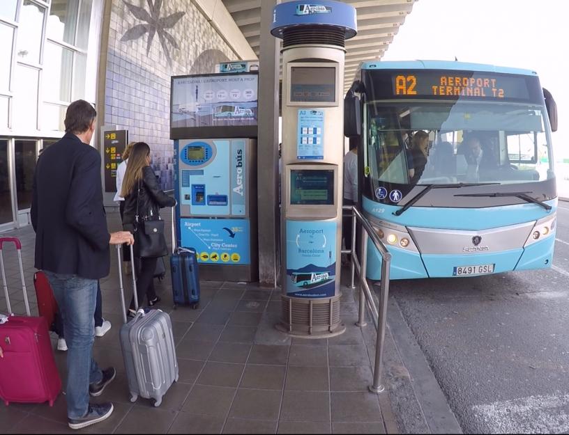 Aerobus, Barcelona