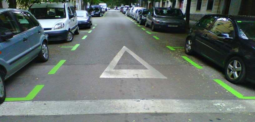 Area verde parking Barcelona