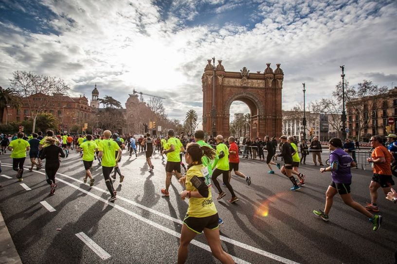 Running the Half Marathon in Barcelona