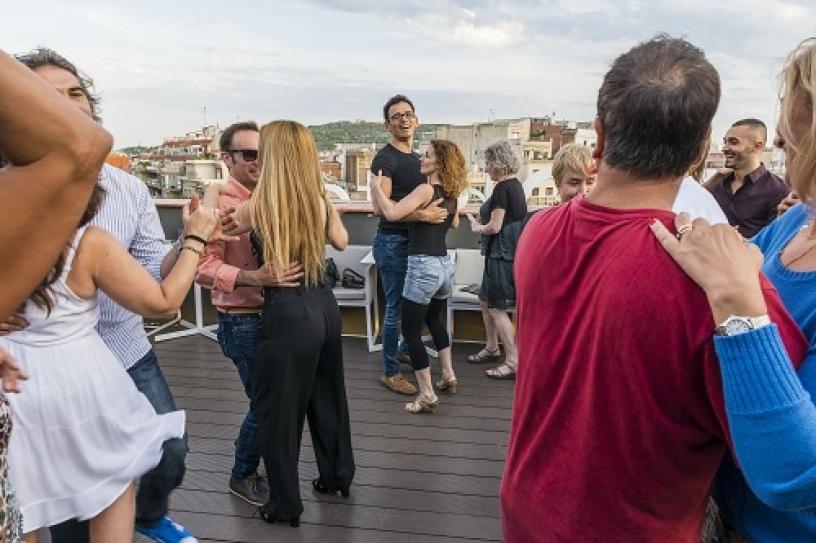 Actividades de baile en la semana de las terrazas