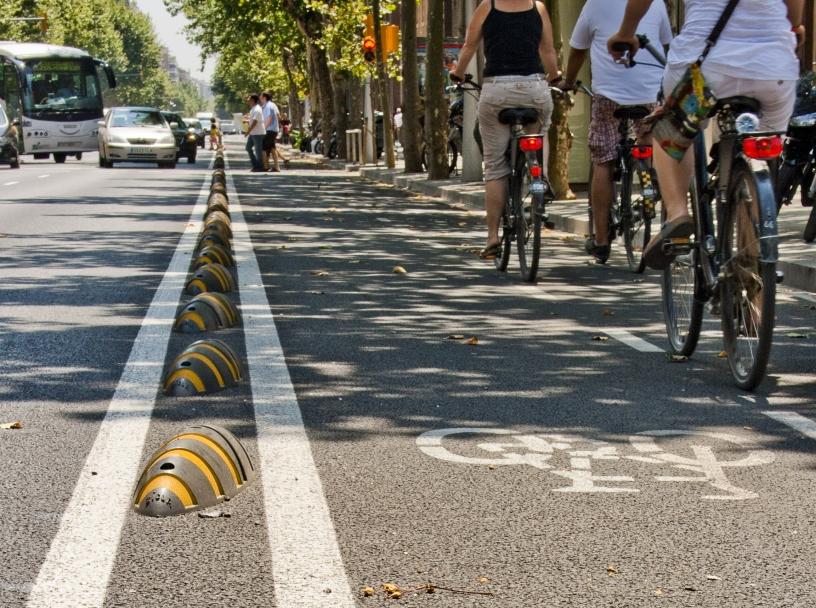Велосипедные дорожки Барселоны