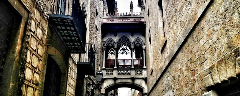 Gotiska kvarteren Barcelona