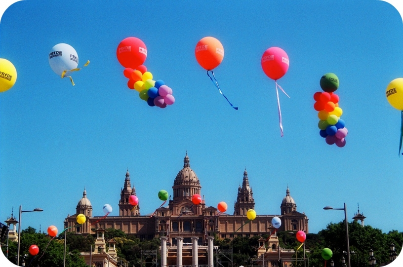 Montjuïc and the Pride Parade