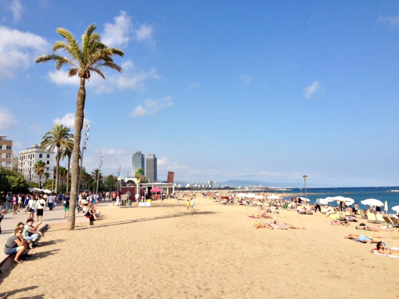Spiaggia della Barceloneta Barcellona