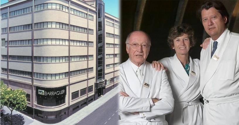 Familia Barraquer y su clínica