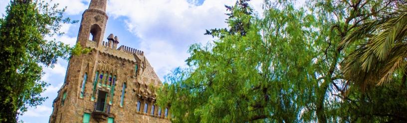 Torre Bellesguard fachada