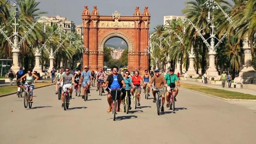 Барселона на велосипеде