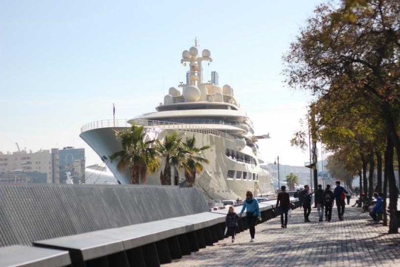 yacht Port Vell Barcelona