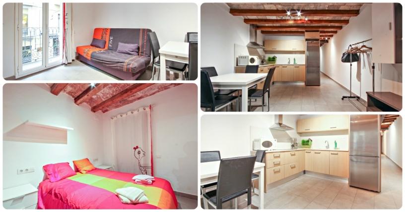 Boqueria Rambla V - Monthly rental in the city centre