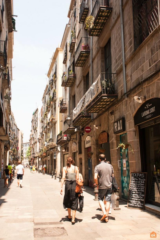 Calle Born Barcelona
