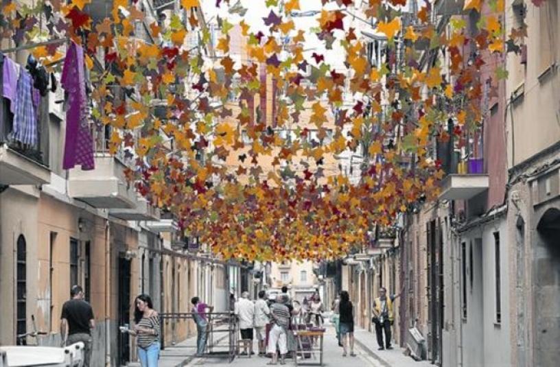 Street in Barceloneta