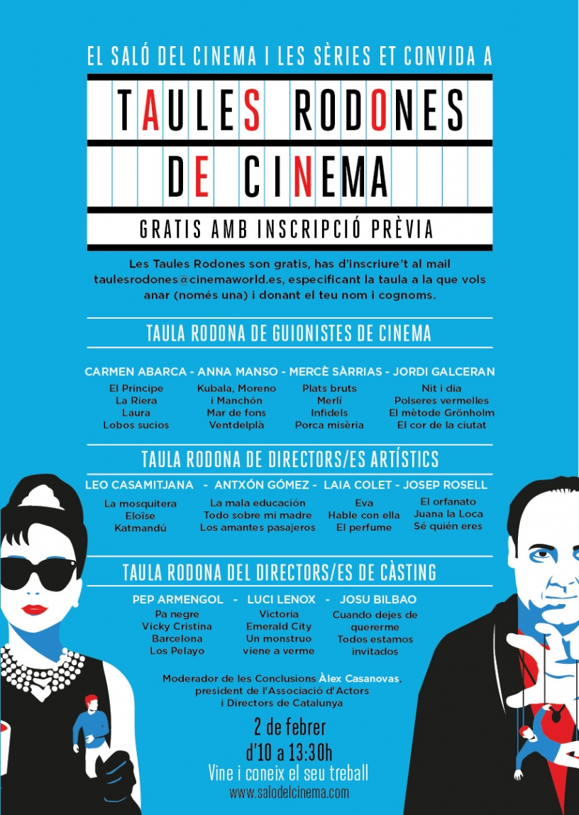 Cartel del Salon del Cine y las Series