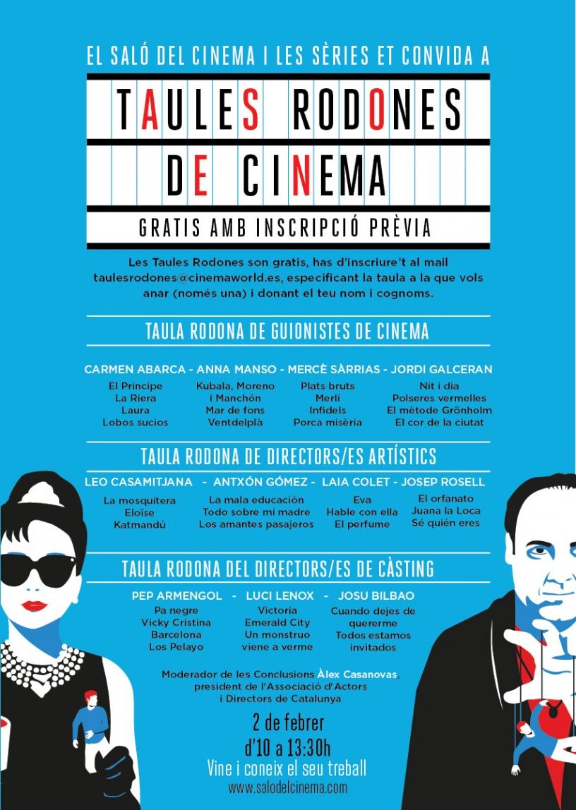 Locandina del Salon del Cine y las Series