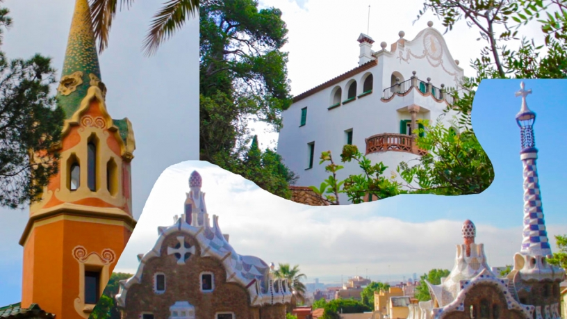 The houses of Park Güell