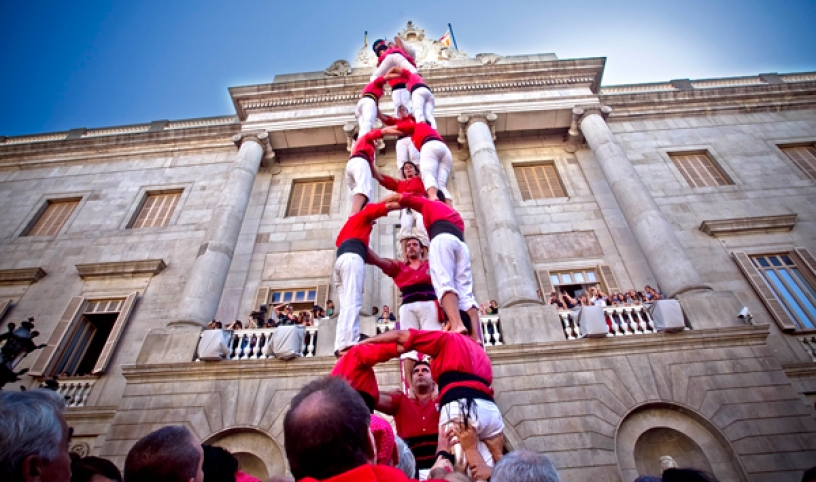 castellers torri umane tradizione catalunya barcellona