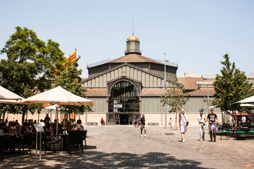 Centre culturel - Borne Barcelona
