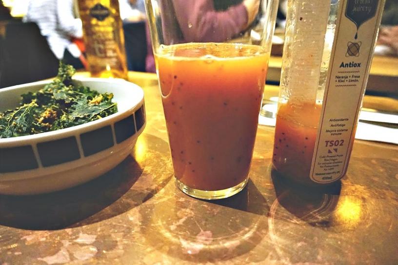 Здоровая вегетарианская пища в Барселоне