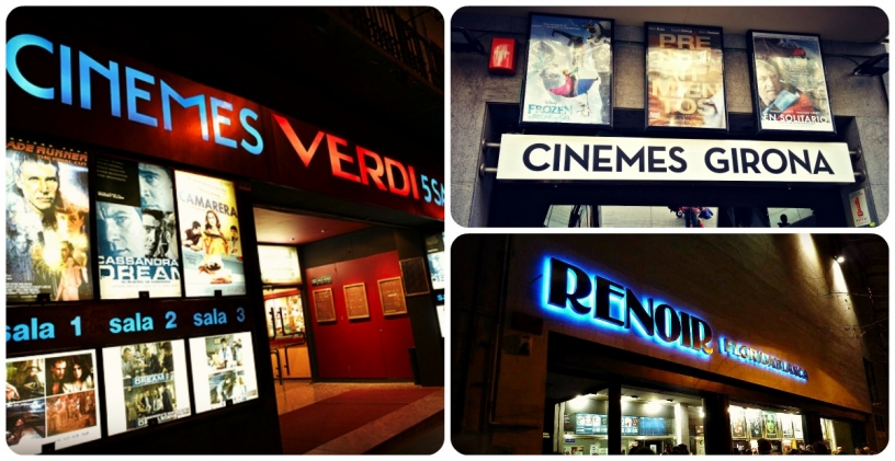 Cines in V.O in Barcelona
