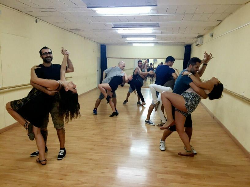 Cours de salsa en couple à l'Ecole de Salsa de Barcelone