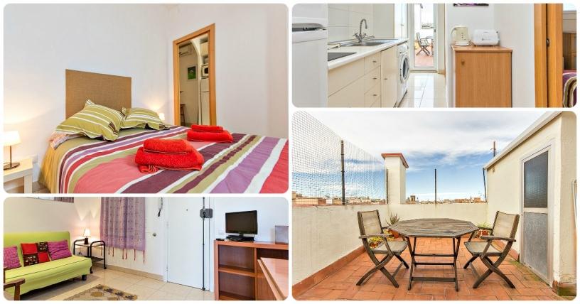 Appartamento economico centrale e con terrazza