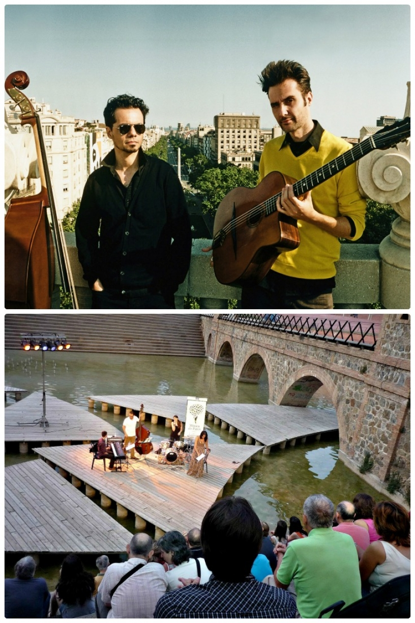Musik in den Parks Barcelona