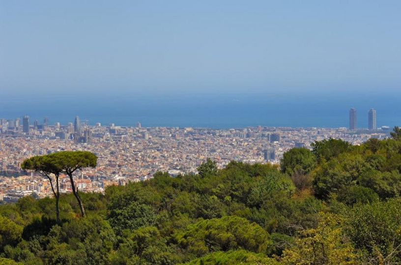 View from Parc de Collserola