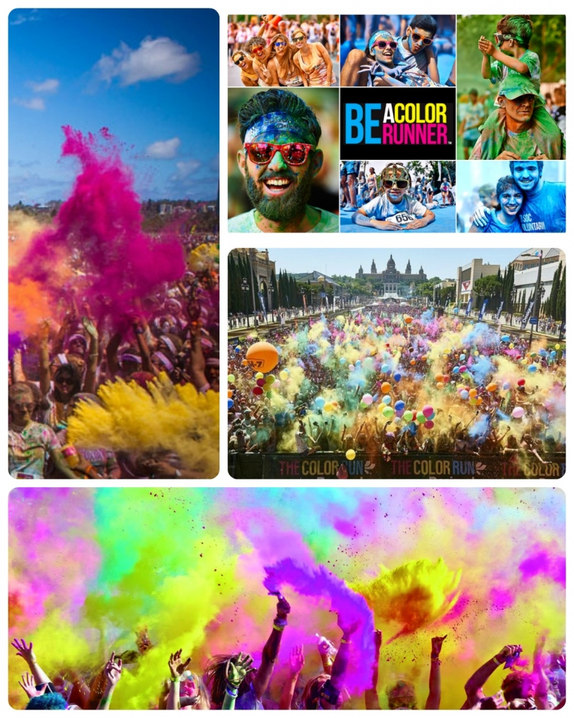 Color Run Barcelona
