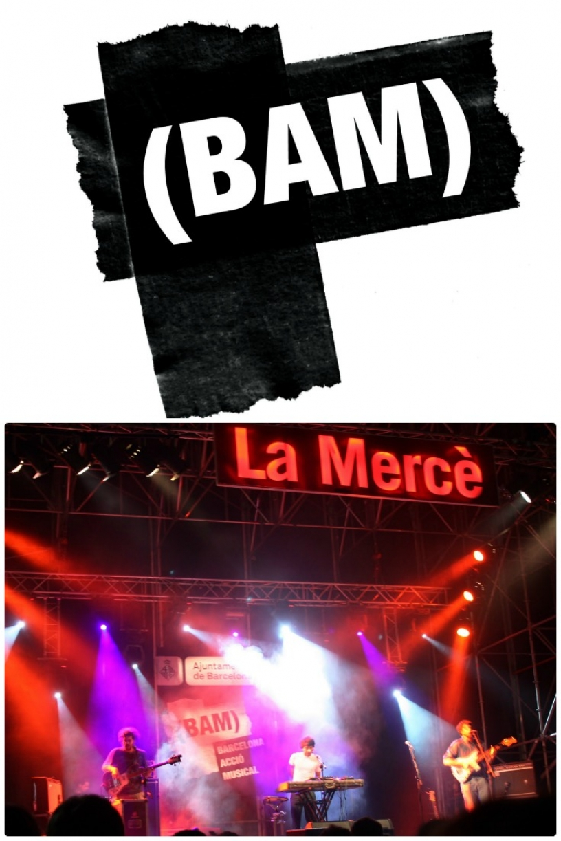 BAM Festival, part of La Merce Barcelona