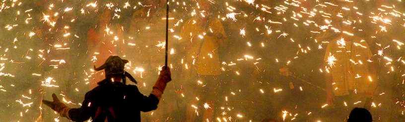 Correfoc at the Festa Major de Gràcia