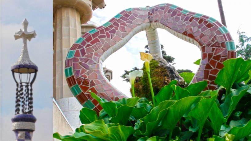 Religión o masonería en el Park Güell