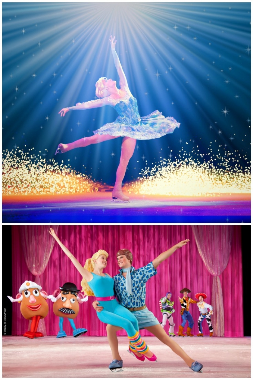 Experience Disney Magic on Ice in Barcelona