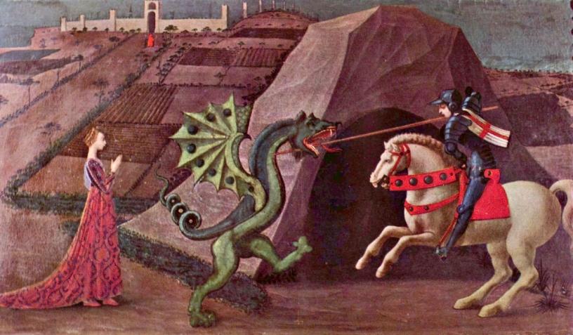 Sant Jordi et le dragon