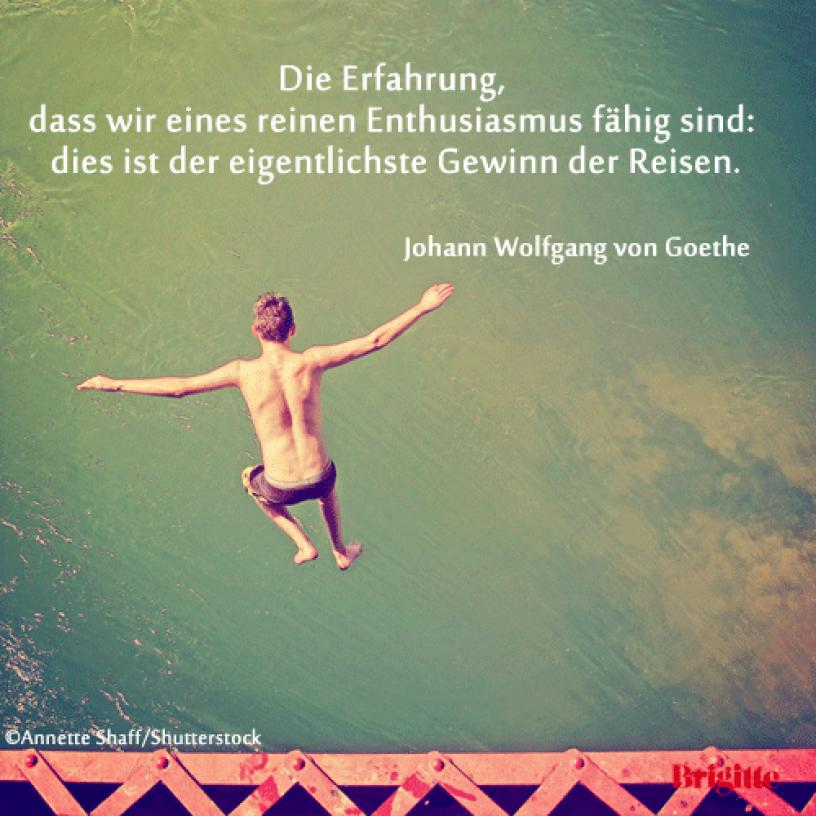 Reisen Goethe