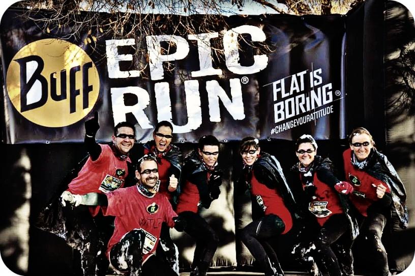 Udklædninger i Buff Epic Run