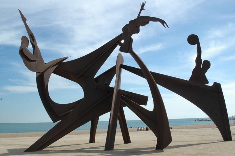 Homenaje a la Natación by Alfredo Lanz<