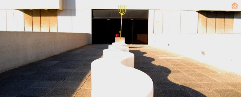 Sculpture sur la Terrasse Fondation Miró