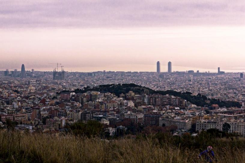 vandring i collserola barcelona