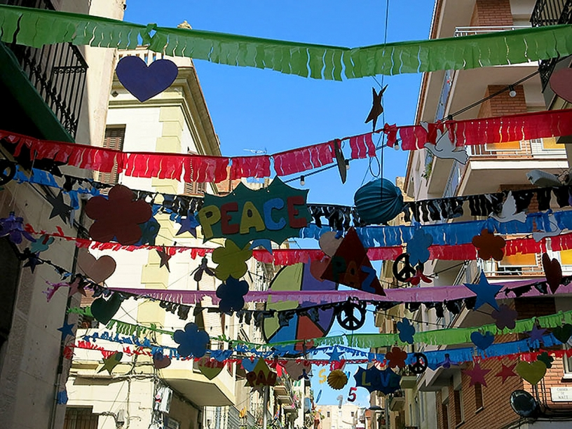 Уличные декорации