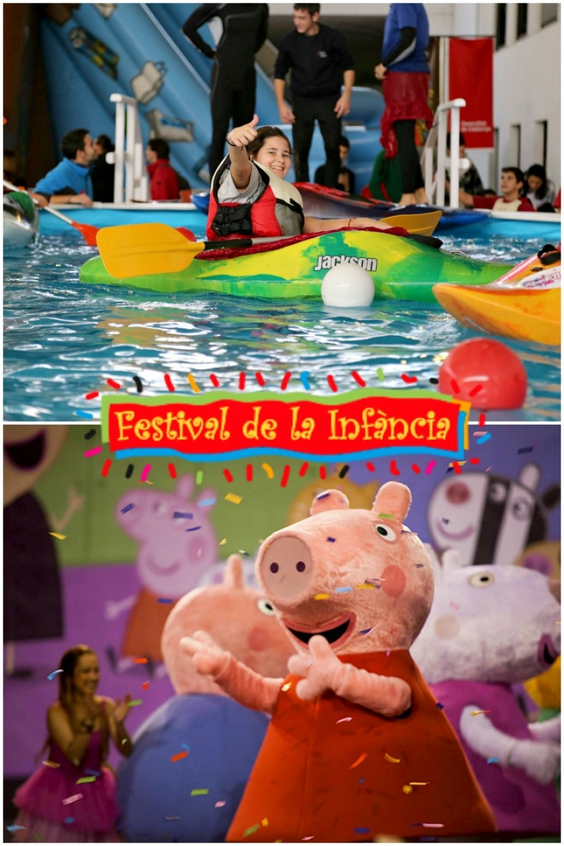 Children festival in Barcelona