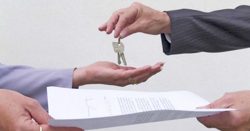 Slutföra ett hyresavtal