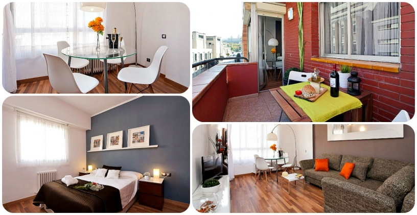 Apartment Fira Magic Montjuic - An der Fira de Barcelona