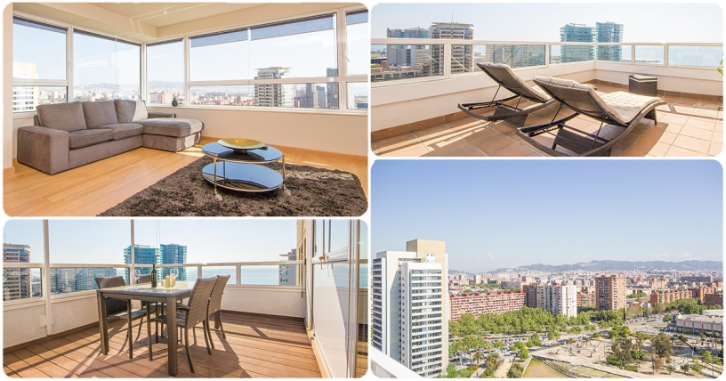 Forum Beach Luxury apartamento en Barcelona