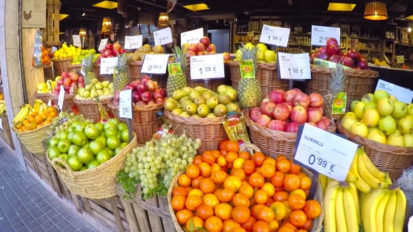 fruteria tienda de barrio