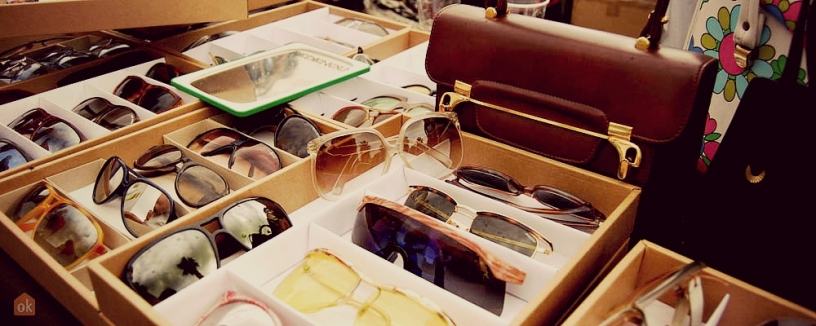 Vintage sunglasses in Barcelona