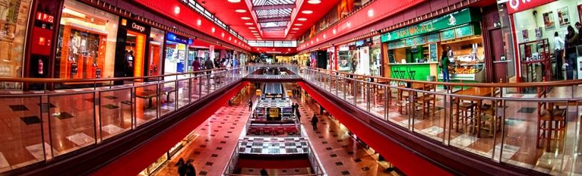 vista panoramica del Centro comercial Glòries